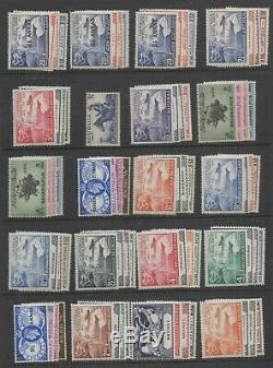 1949 UPU complete omnibus set 310 stamps all MNH unmounted mint stamps superb