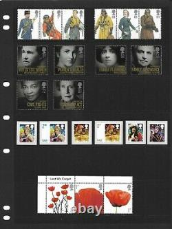 GB 2008 Commemorative Stamp Year Set + 6 Mini Sheets All Unmounted Mint