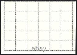 Gambia. 1966. 5/. Gum Sheet. Of (30) Stamps. Un/mounted Mint