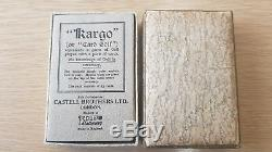 PB5 (6)'KARGO' advert pane Superb perfs complete with Card Game UNMOUNTED MINT