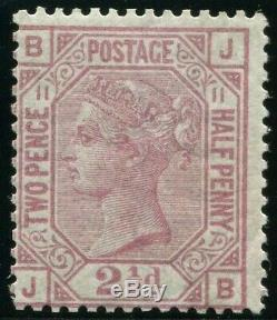 Sg 141 2½d Rosy Mauve Plate 11. Superb Post Office fresh unmounted mint example