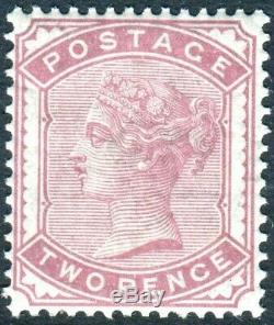 Sg 168 2d Pale Rose. A superb unmounted mint example
