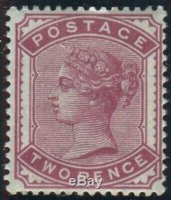 Sg 168a Spec K5 (3) 2d Rose. A superb Post Office fresh unmounted mint example
