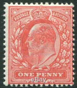 Sg 275 1d Aniline Pink. A superb Post Office fresh unmounted mint example