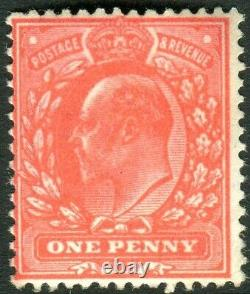 Sg 275 1d Aniline Pink. A superb unmounted mint example with certificate
