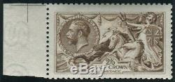 Sg 406 2/6 Yellow Brown. A superb Post Office fresh unmounted mint example