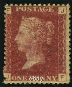 Sg 43 1d Red Plate 106. A superb unmounted mint example