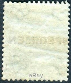 Sg 71s 1/- Deep Green OVPT SPECIMEN. A superb unmounted mint example