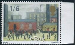 Sg 750Ey 1/6 Paintings PHOSPHOR OMITTED. A superb unmounted mint example