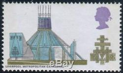 Sg 801a 1/6 Cathedrals BLACK (VALUE) OMITTED. A superb unmounted mint example